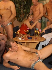 Suoer hot orgy sex performed by nasty mature wife - XXXonXXX - Pic 2