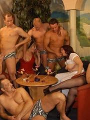 Suoer hot orgy sex performed by nasty mature wife - XXXonXXX - Pic 3