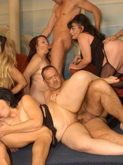 Suoer hot orgy sex performed by nasty mature wife - XXXonXXX - Pic 4
