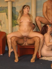 Suoer hot orgy sex performed by nasty mature wife - XXXonXXX - Pic 5
