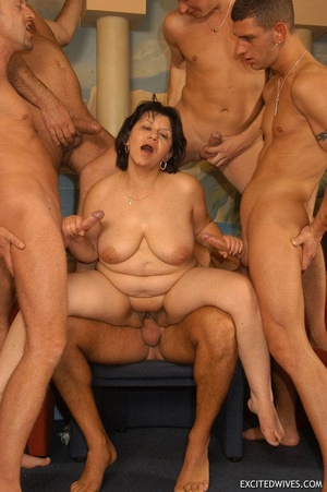 Suoer hot orgy sex performed by nasty mature wife and their lovers. Tags: Group sex, hairy vagina, boobs, blowjob. - XXXonXXX - Pic 6