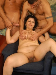 Suoer hot orgy sex performed by nasty mature wife - XXXonXXX - Pic 8