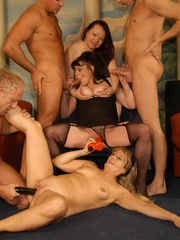 Suoer hot orgy sex performed by nasty mature wife - XXXonXXX - Pic 10