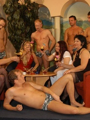 Naughty mature moms enjoying rockhard peckers in - XXXonXXX - Pic 1