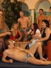 Naughty mature moms enjoying rockhard peckers in - XXXonXXX - Pic 1