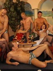 Naughty mature moms enjoying rockhard peckers in - XXXonXXX - Pic 2