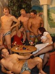 Naughty mature moms enjoying rockhard peckers in - XXXonXXX - Pic 3