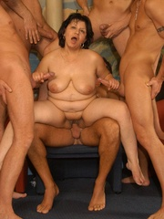 Naughty mature moms enjoying rockhard peckers in - XXXonXXX - Pic 6