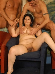 Naughty mature moms enjoying rockhard peckers in - XXXonXXX - Pic 8
