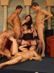 Naughty mature moms enjoying rockhard peckers in - XXXonXXX - Pic 10