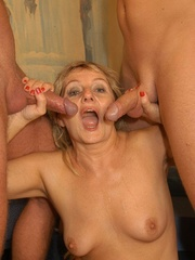 Naughty mature moms enjoying rockhard peckers in - XXXonXXX - Pic 11