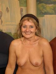 Naughty mature moms enjoying rockhard peckers in - XXXonXXX - Pic 12