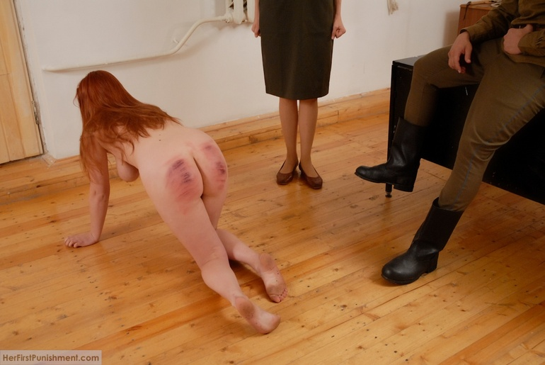 And Red head clit spank for free