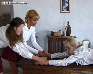Blonde student held while she was gettin - XXX Dessert - Picture 10
