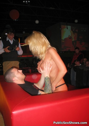 Busty blonde stunner gives an awesome lapdance to lucjy dude. Tags: Naked girl, reality, big tits. - XXXonXXX - Pic 12