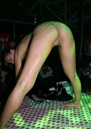 Awesome striptease performed by lusty sex show participants. Tags: Naked girls, reality, tight panties, sexy ass. - XXXonXXX - Pic 1