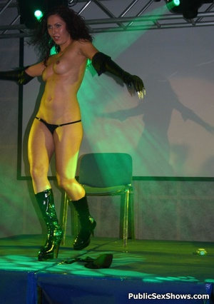 Awesome striptease performed by lusty sex show participants. Tags: Naked girls, reality, tight panties, sexy ass. - XXXonXXX - Pic 9