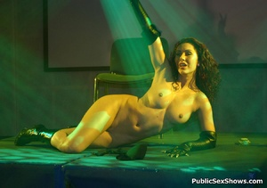 Awesome striptease performed by lusty sex show participants. Tags: Naked girls, reality, tight panties, sexy ass. - XXXonXXX - Pic 12