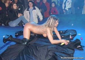 Naked sex show girl exposing their naked boobs and snatches. Tags: Reality, public posing, naked girls. - XXXonXXX - Pic 12