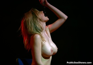 Hot xxx pics of dirty cuties going wild on sex show. Tags: Big tits, public, reality, striptease. - Picture 4