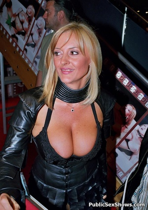 Hot xxx pics of dirty cuties going wild on sex show. Tags: Big tits, public, reality, striptease. - Picture 9