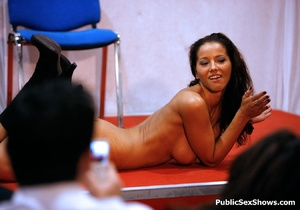 Sex starving sex show babes toying their itching twats on a cam. Tags: Public insertion, dildo, huge tits, reality. - XXXonXXX - Pic 4