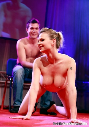 Lucky dudes get pleased by stunning sex show girls. Tags: Public, reality, perfect juggs, naked girls. - XXXonXXX - Pic 7
