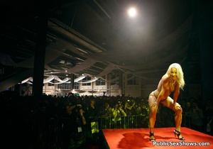 Lucky dudes get pleased by stunning sex show girls. Tags: Public, reality, perfect juggs, naked girls. - XXXonXXX - Pic 12