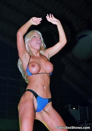 Exclusive hot xxx pics of wild sex show girls teasing. Tags: Reality, public sex, huge tits, insertion. - XXXonXXX - Pic 8