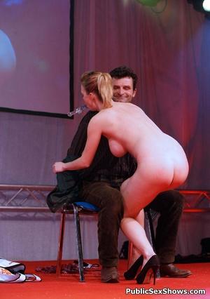 Exclusive hot xxx pics of wild sex show girls teasing. Tags: Reality, public sex, huge tits, insertion. - XXXonXXX - Pic 10