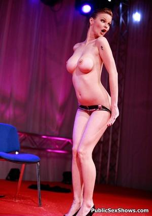 Exclusive hot xxx pics of wild sex show girls teasing. Tags: Reality, public sex, huge tits, insertion. - XXXonXXX - Pic 11