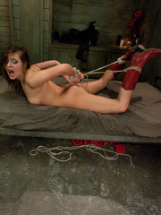 Perfect body cowgirl gets tied up and butt - XXX Dessert - Picture 15
