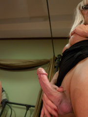 Sex hungry blonde TS milf enjoying hardcore - XXX Dessert - Picture 4