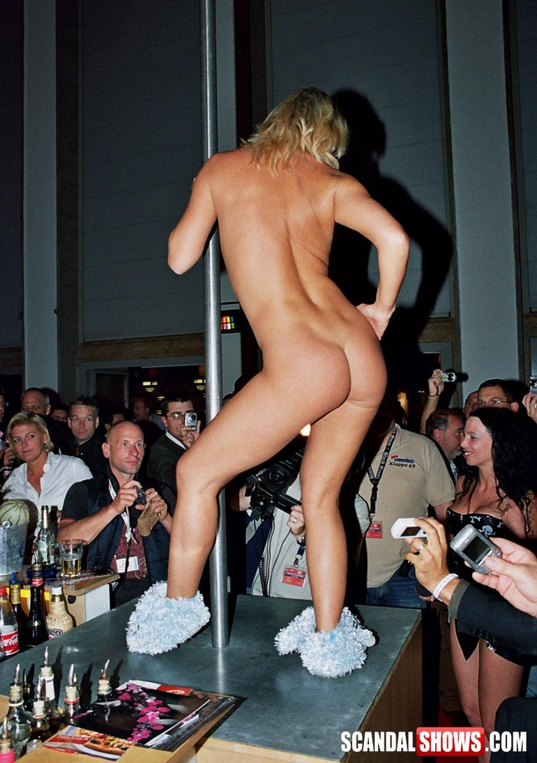 Really. All nude stage shows
