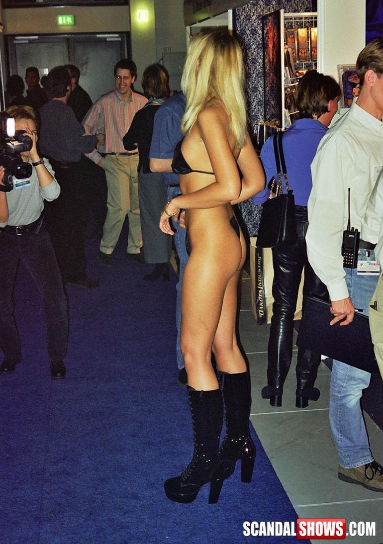 Almost nude girls public congratulate