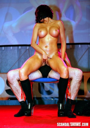 Awesome hot xxx pics of wild sex show models getting naked. Tags: Public, reality, huge boobs, naked girls. - XXXonXXX - Pic 8