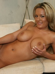 Busty Blonde Slut Wife Fucks another - XXX Dessert - Picture 12