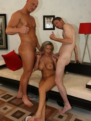 Hot Blonde Wife Sucks Another Man's - XXX Dessert - Picture 16
