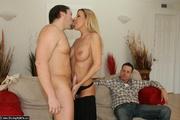 blonde milf wife gets