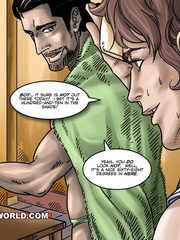 Hot gay cartoon scenes in these comix. Tags: gay - Picture 3