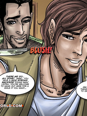 Hot gay cartoon scenes in these comix. Tags: gay - Picture 5