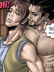 Hot gay cartoon scenes in these comix. Tags: gay - Picture 8