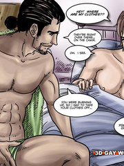 Hot gay cartoon scenes in these comix. Tags: gay - Picture 9