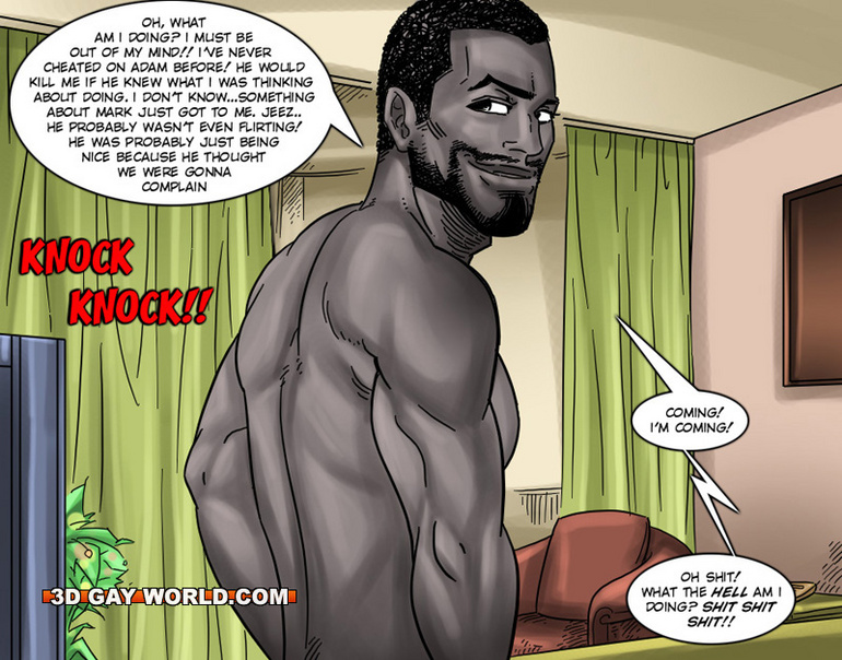 sex black pics gay cartoons
