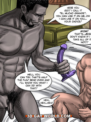 Free cartoon porn with two guys fucking each other - Picture 13