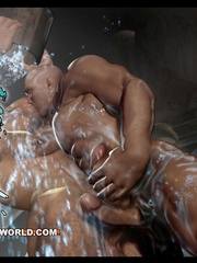 Free gay cartoons porno with two powerful men. Tags: - Picture 4