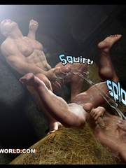 Free gay cartoons porno with two powerful men. Tags: - Picture 13