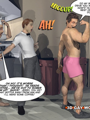 Amazing gay male cartoons and a funny story. Tags: - Picture 4