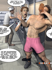 Amazing gay male cartoons and a funny story. Tags: - Picture 6