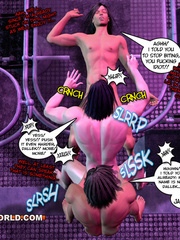 Dirty Cartoons about a gay threesome. Tags: sexy - Picture 8